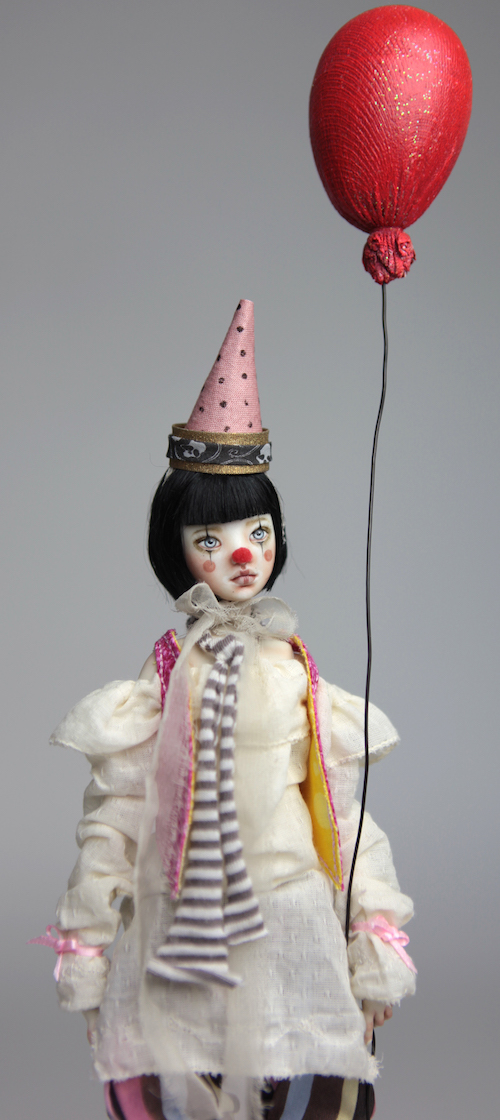 Custom BJD Doll Ball Jointed Doll Maya 3 13 Birthday Circus Clown Maya