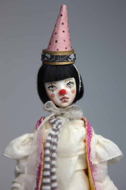 Custom BJD Doll Ball Jointed Doll Maya 4 13 Birthday Circus Clown Maya