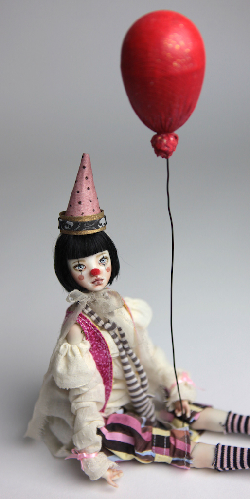 Custom BJD Doll Ball Jointed Doll Maya 6 13 Birthday Circus Clown Maya