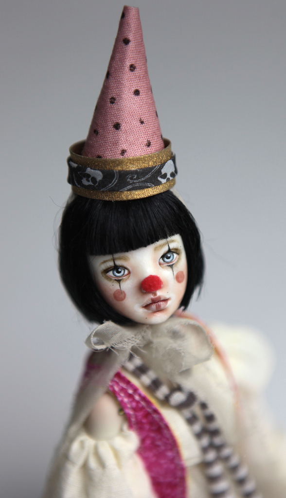 Custom BJD Doll Ball Jointed Doll Maya 7 13 Birthday Circus Clown Maya