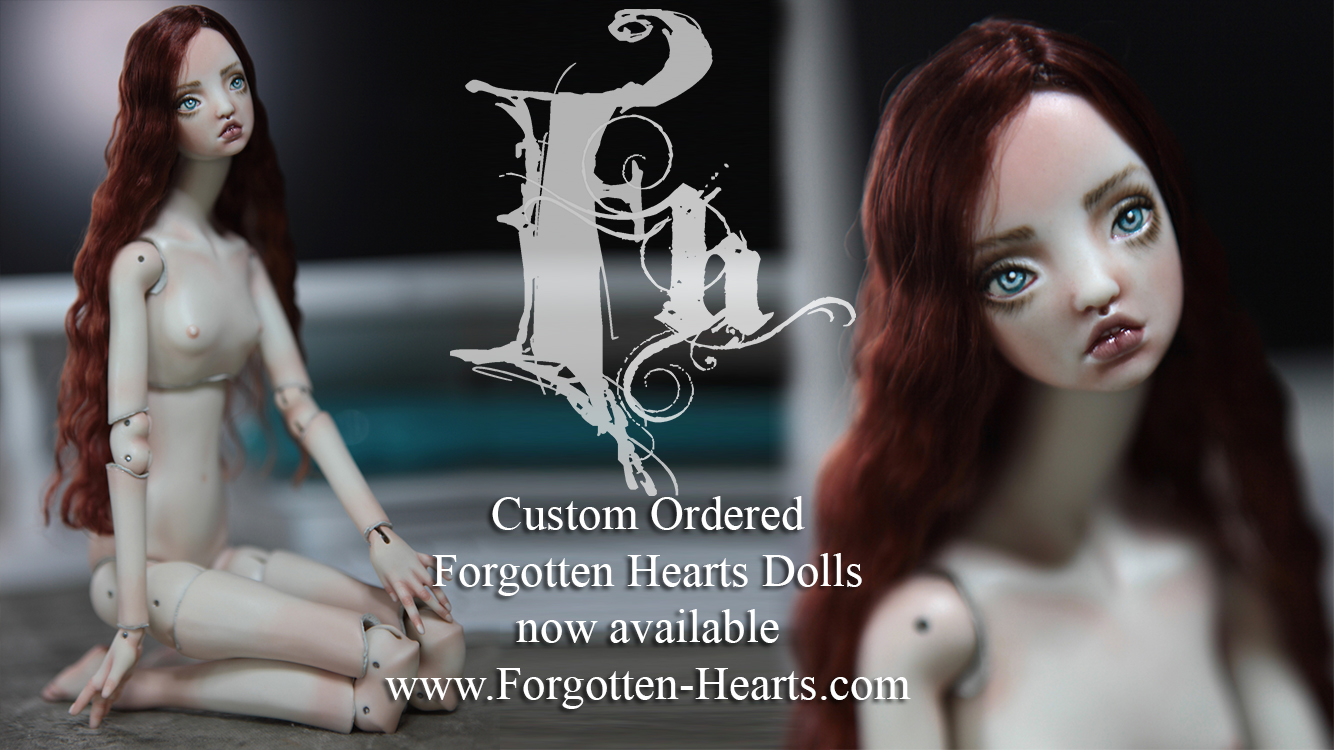 Custom Ordered Porcelain BJD Dolls