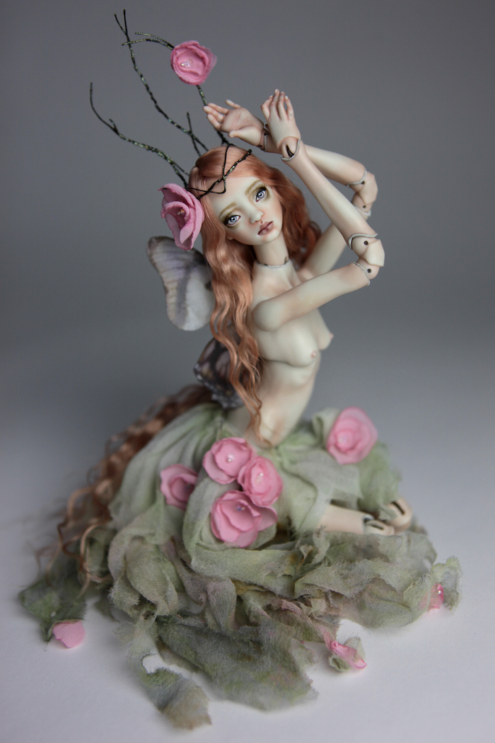 BJD Fairy Doll, Ball Jointed Fairy Doll Luna by Forgotten Hearts