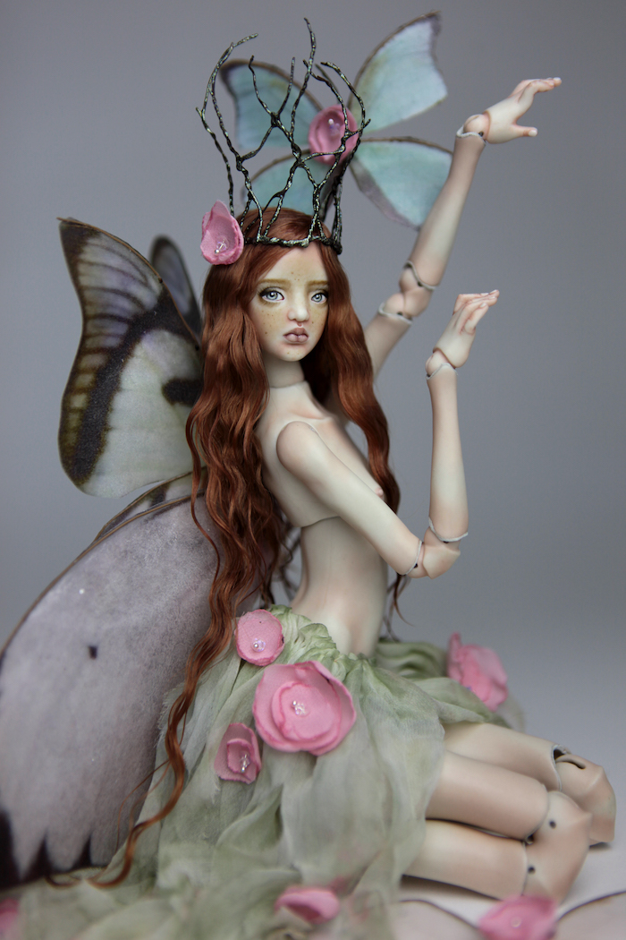 BJD Fairy Doll, Ball Jointed Fairy Doll Willow by Forgotten Hearts