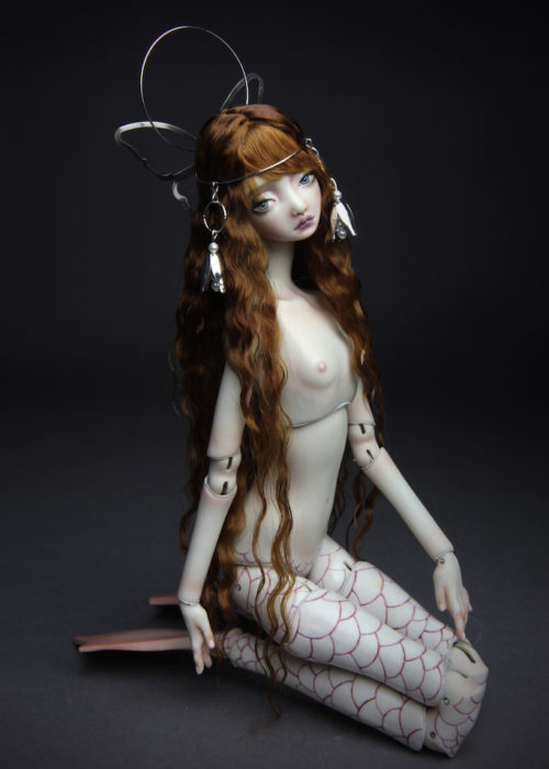 Porcelain BJD Doll Mermaid