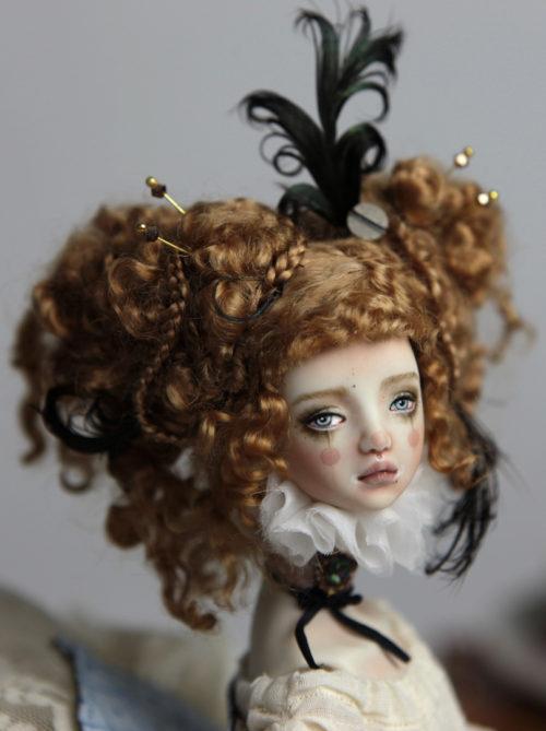 BJD Dolls | Victorian Carousel Ova | Porcelain BJD Doll by Forgotten Hearts