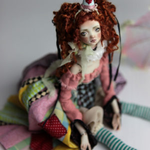 BJD Dolls | Redhead Agata Porcelain BJD Doll by Forgotten Hearts