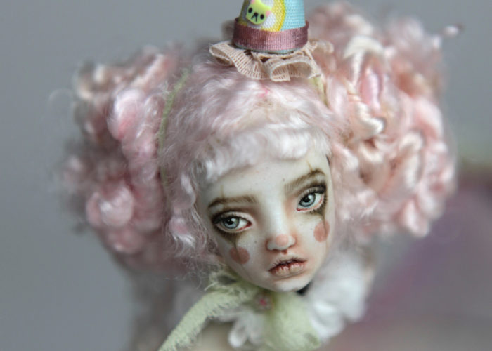 BJD Dolls | Victorian Carousel Dolls and Clowns | Porcelain BJD Doll by Forgotten Hearts