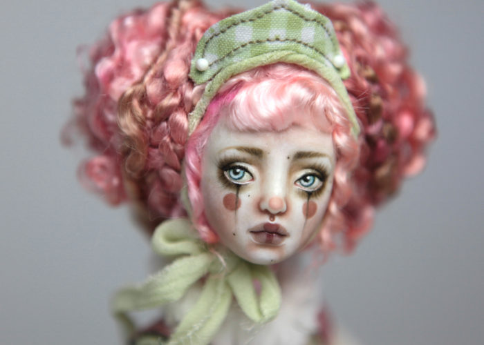 BJD Dolls | Ball Jointed Dolls | Victorian Carousel Dolls and Clowns | Porcelain BJD Doll by Forgotten Hearts