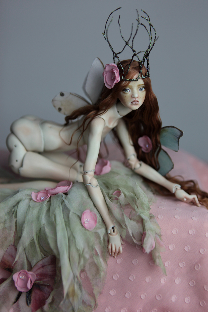 BJD Doll Ball Jointed Doll Willow Fairy 2018 10 Porcelain BJD Dolls | Forgotten Hearts Dolls