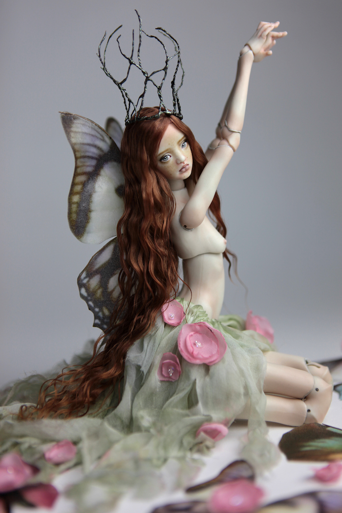 BJD Doll Ball Jointed Doll Willow Fairy 2018 2 Willow & Luna Porcelain BJD Dolls