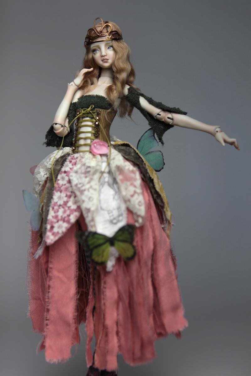 BJD Doll Ball Jointed Fairy Ova Sphinx 2018 1 15 Porcelain BJD Fairy Doll, Ova