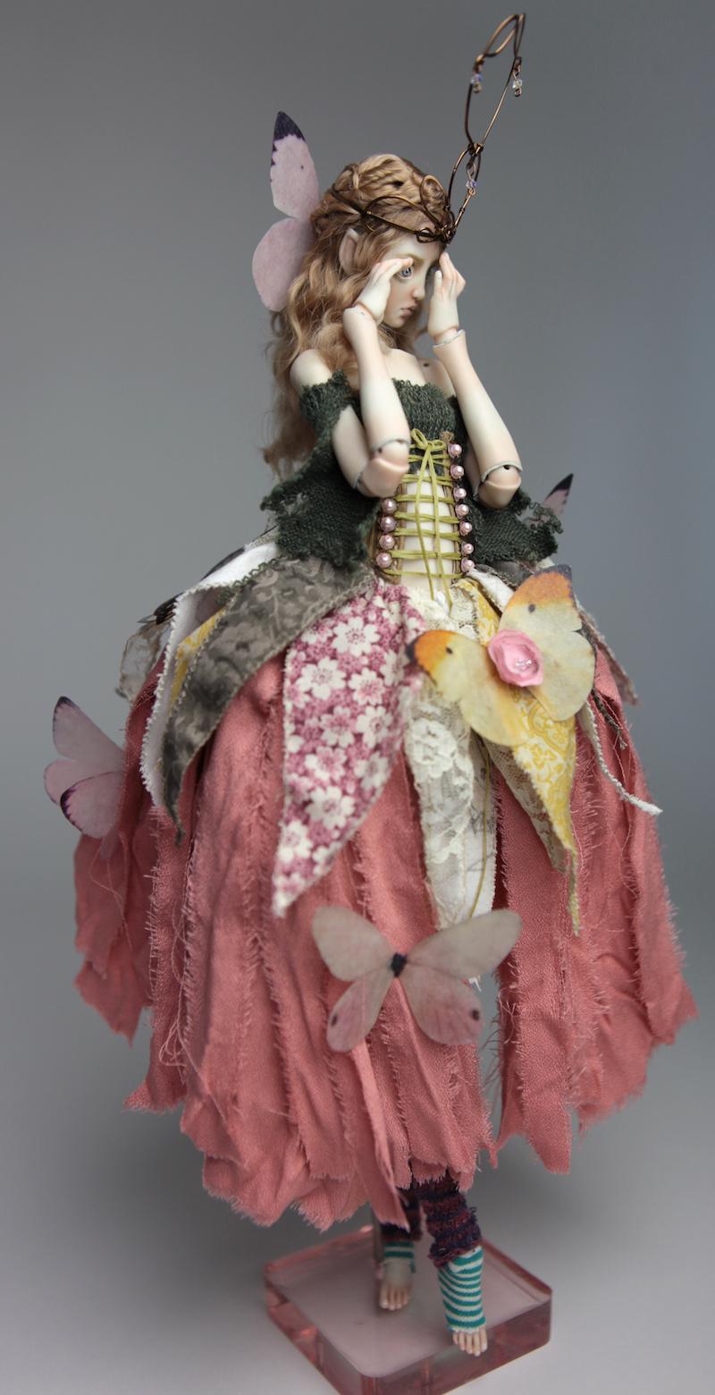 BJD Doll Ball Jointed Fairy Ova Sphinx 2018 10 15 Porcelain BJD Fairy Doll, Sphinx