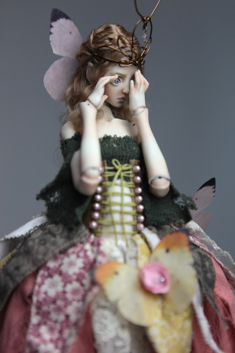BJD Doll Ball Jointed Fairy Ova Sphinx 2018 11 Porcelain BJD Dolls | Forgotten Hearts Dolls