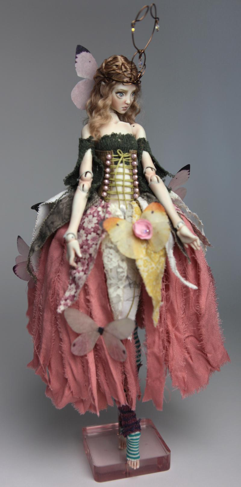 BJD Doll Ball Jointed Fairy Ova Sphinx 2018 12 15 Porcelain BJD Fairy Doll, Sphinx