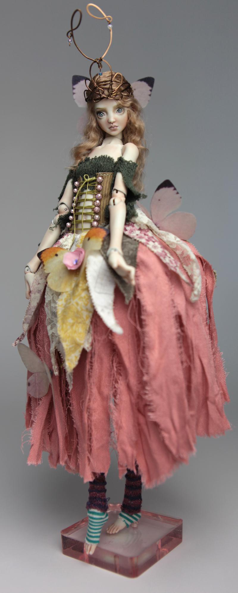 BJD Doll Ball Jointed Fairy Ova Sphinx 2018 13 15 Porcelain BJD Fairy Doll, Sphinx