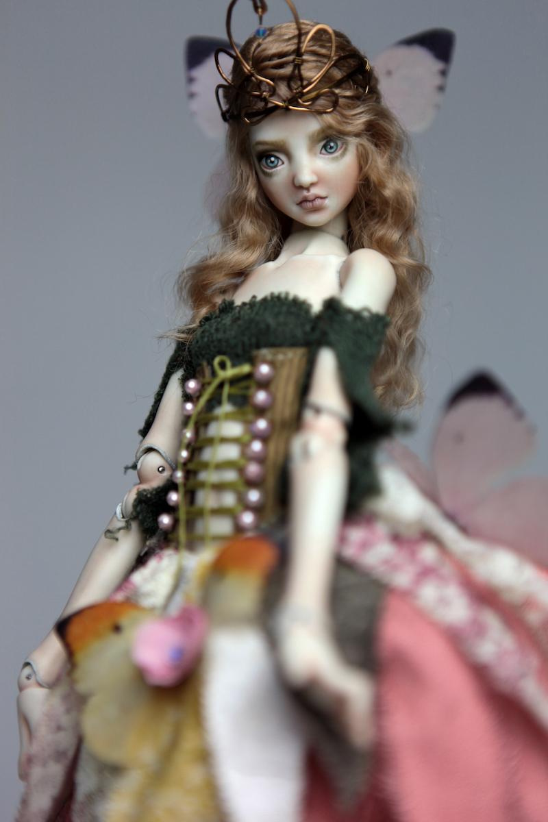 BJD Doll Ball Jointed Fairy Ova Sphinx 2018 14 15 Porcelain BJD Fairy Doll, Sphinx