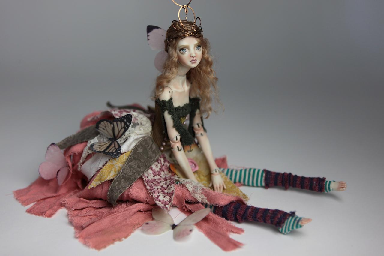 BJD Doll Ball Jointed Fairy Ova Sphinx 2018 15 15 Porcelain BJD Fairy Doll, Sphinx