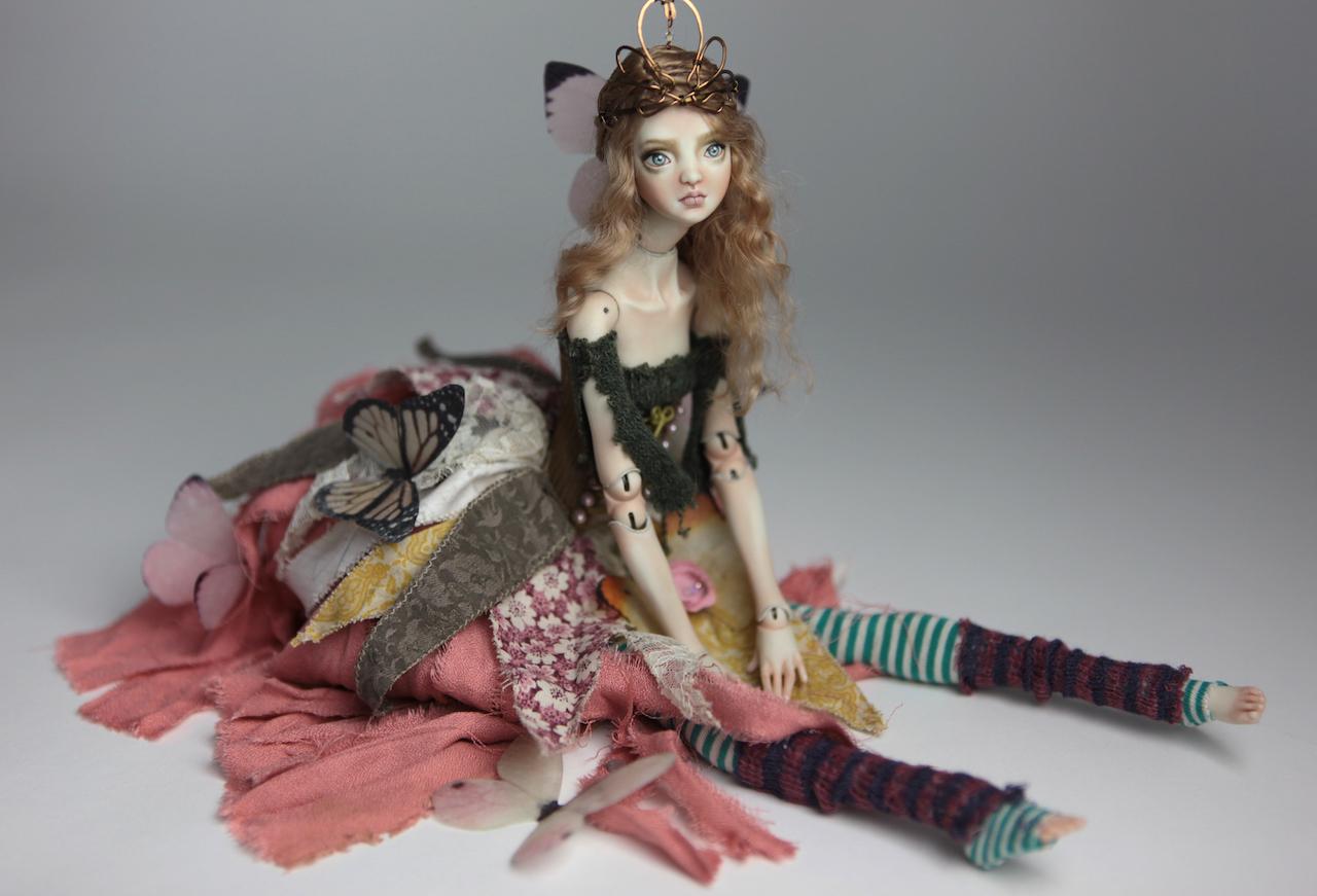 BJD Doll Ball Jointed Fairy Ova Sphinx 2018 16 15 Porcelain BJD Fairy Doll, Sphinx