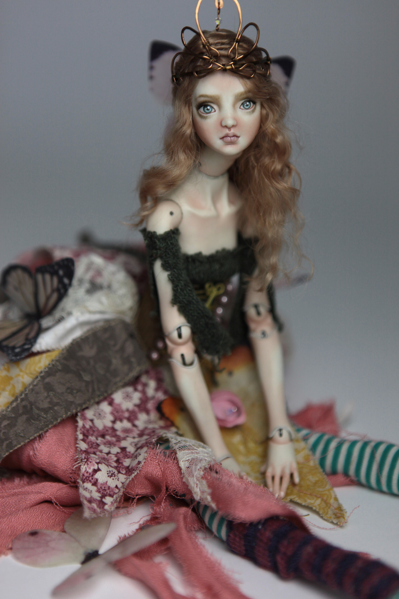 BJD Doll Ball Jointed Fairy Ova Sphinx 2018 17 Porcelain Fairies, Ova and Sphinx