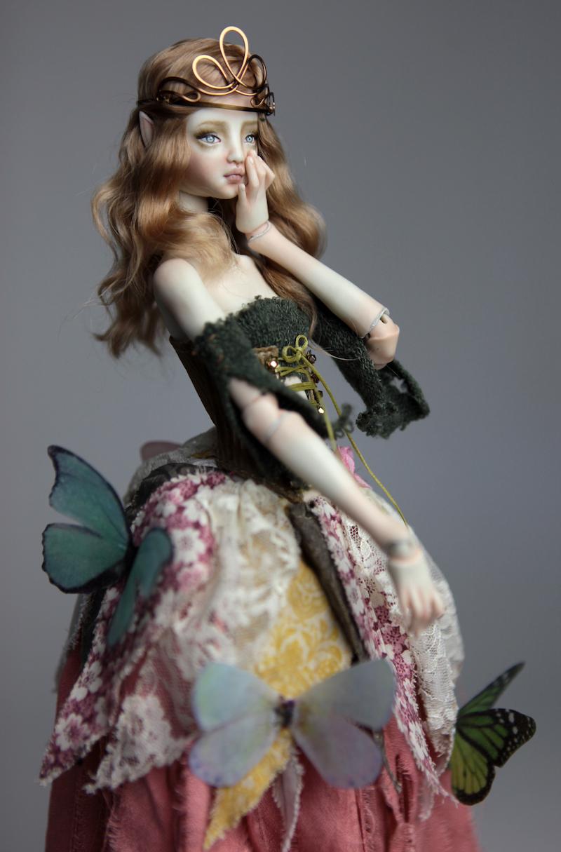 BJD Doll Ball Jointed Fairy Ova Sphinx 2018 2 15 Porcelain BJD Fairy Doll, Ova