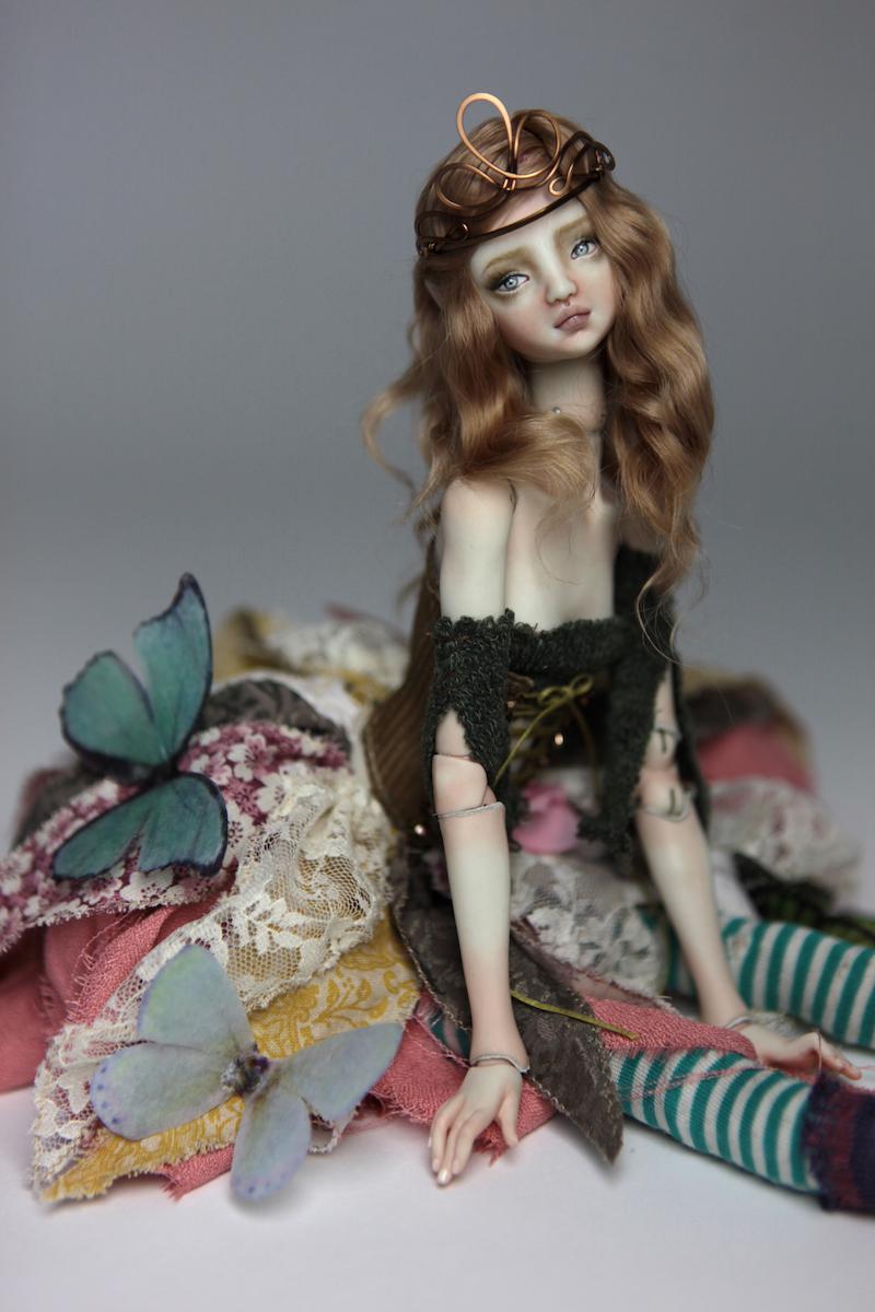 BJD Doll Ball Jointed Fairy Ova Sphinx 2018 3 15 Porcelain BJD Fairy Doll, Ova