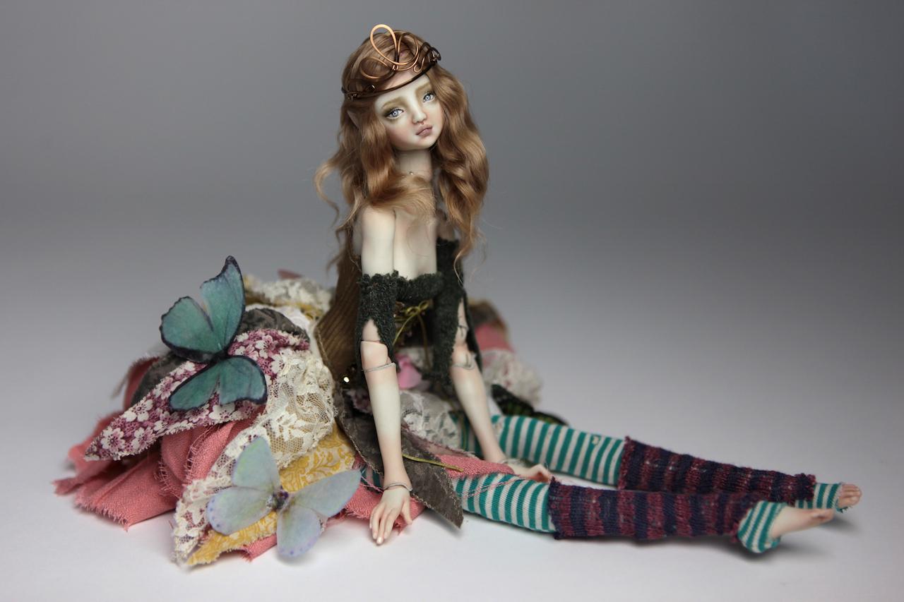 BJD Doll Ball Jointed Fairy Ova Sphinx 2018 4 15 Porcelain BJD Fairy Doll, Ova