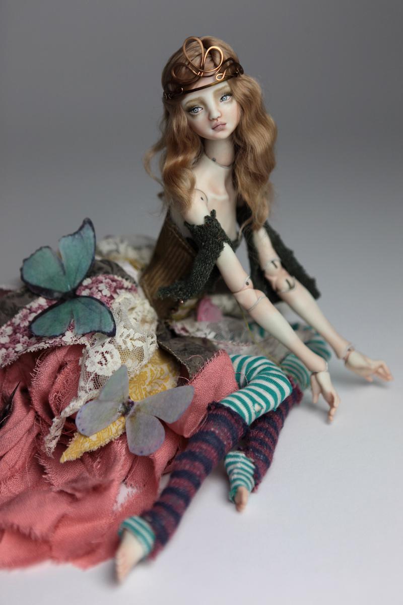 BJD Doll Ball Jointed Fairy Ova Sphinx 2018 5 Porcelain Fairies, Ova and Sphinx