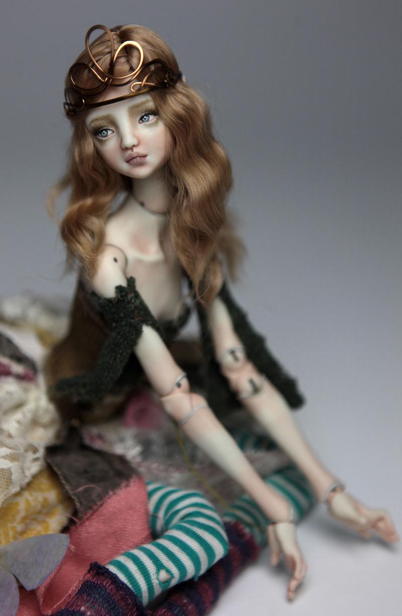 BJD Doll Ball Jointed Fairy Ova Sphinx 2018 6 15 Porcelain BJD Fairy Doll, Ova