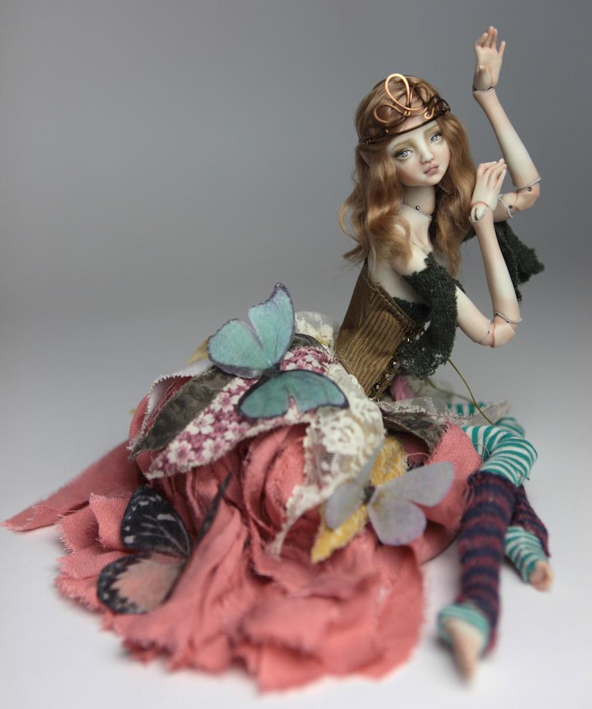 BJD Doll Ball Jointed Fairy Ova Sphinx 2018 7 15 Porcelain BJD Fairy Doll, Ova