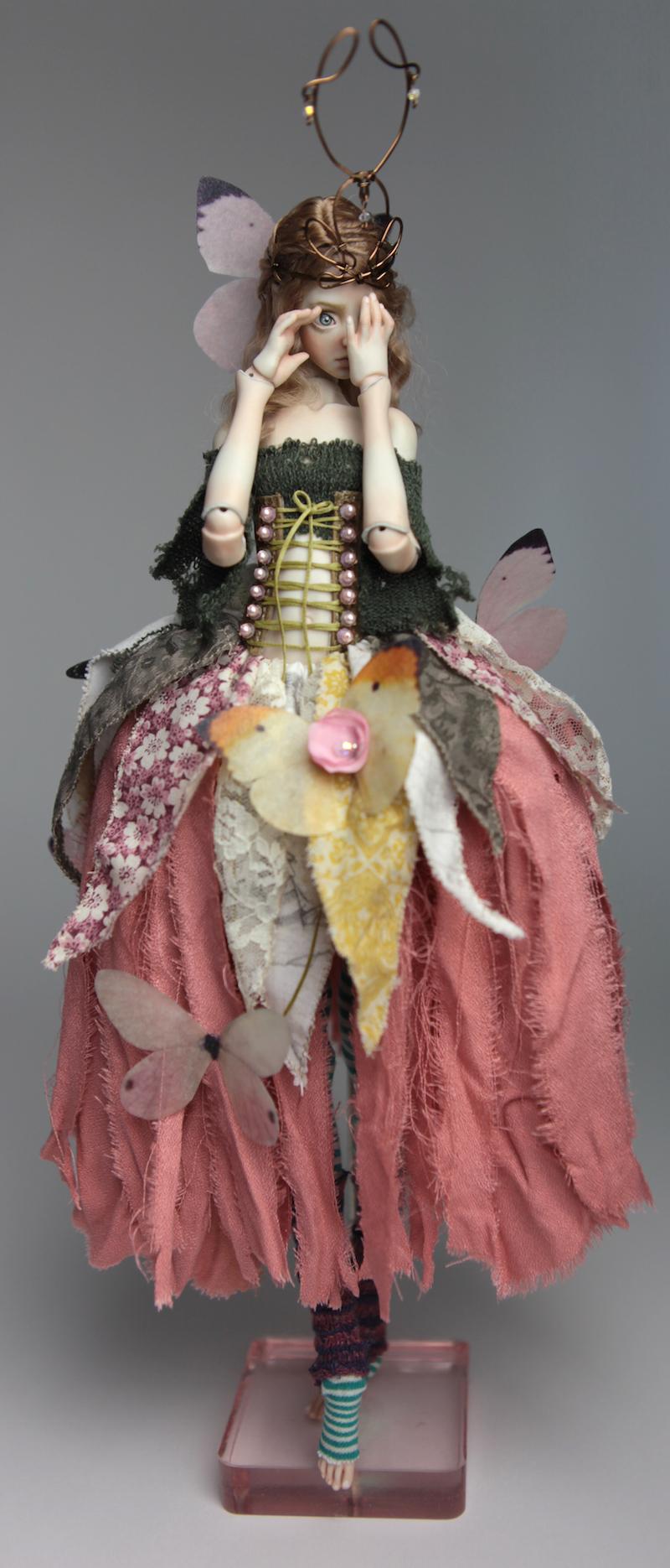 BJD Doll Ball Jointed Fairy Ova Sphinx 2018 9 15 Porcelain BJD Fairy Doll, Sphinx