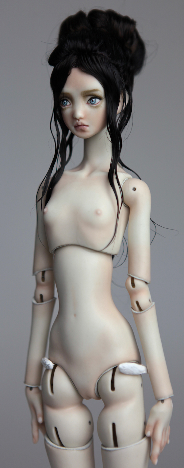 BJD Doll Ball Jointed Nude Doll Echo 2018 3 15 Nude Porcelain BJD Doll Echo