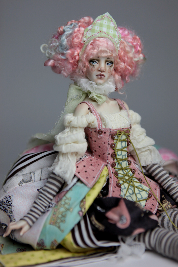 BJD Doll Ball Jointed Victorian Cotton Candy 29 15 Victorian Strawberry Clown Porcelain BJD Doll Willow