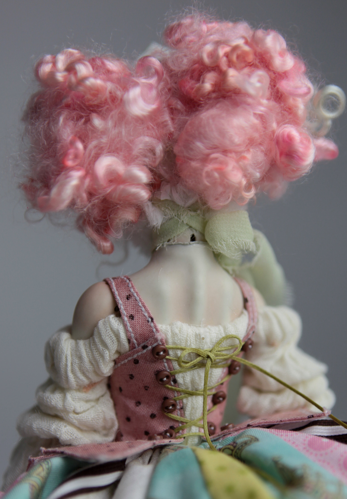 BJD Doll Ball Jointed Victorian Cotton Candy 31 15 Victorian Strawberry Clown Porcelain BJD Doll Willow