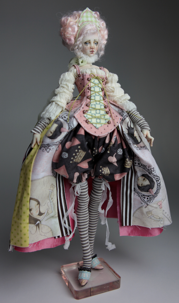 BJD Doll Ball Jointed Victorian Cotton Candy 34 15 Victorian Strawberry Clown Porcelain BJD Doll Eleven