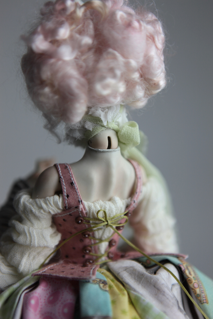 BJD Doll Ball Jointed Victorian Cotton Candy 40 15 Victorian Strawberry Clown Porcelain BJD Doll Eleven
