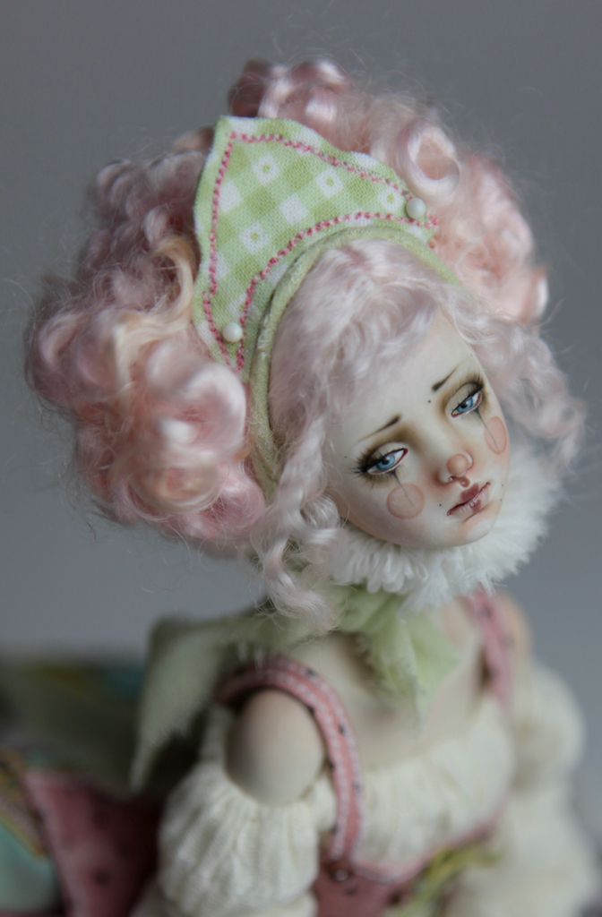 BJD Doll Ball Jointed Victorian Cotton Candy 41 Victorian Red Skulls