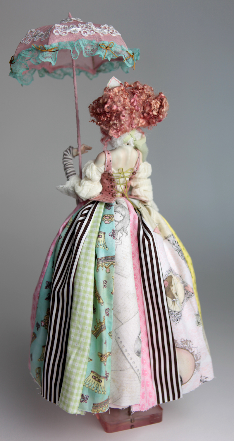 BJD Doll Ball Jointed Victorian Cotton Candy 5 15 Victorian Strawberry Clown Porcelain BJD Doll Luna