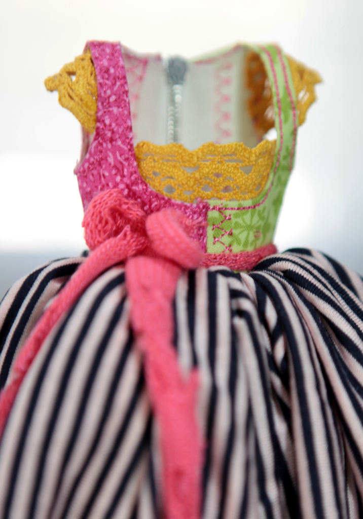 BJD Doll Ball Jointed Victorian Corset Candy Goth Dress 27 Candy Goth Dress #7