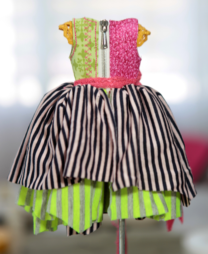 BJD Doll Ball Jointed Victorian Corset Candy Goth Dress 29 Candy Goth Dress #7