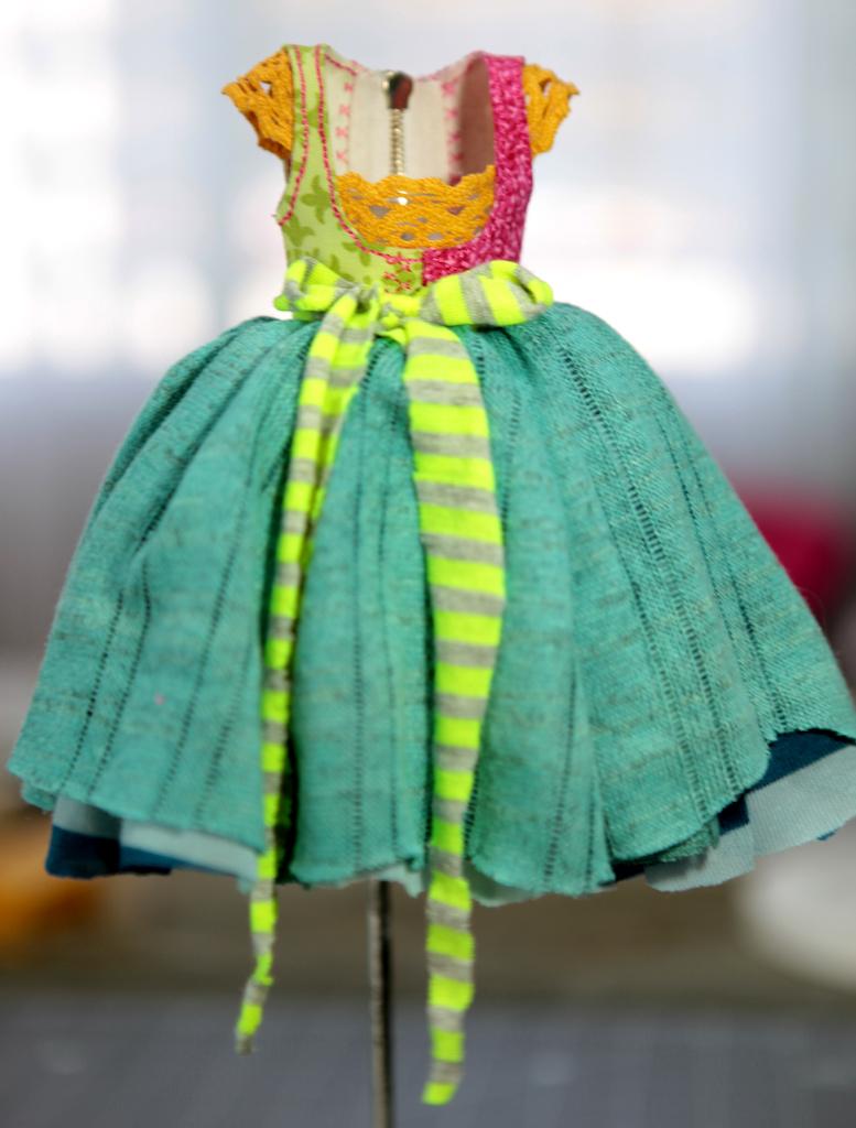 BJD Doll Ball Jointed Victorian Corset Candy Goth Dress 30 Candy Goth Dress #9