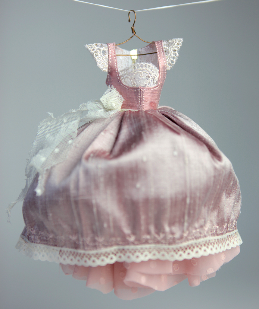 BJD Doll Ball Jointed Victorian Corset Cinderella Dress 25 Dress #7