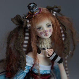 BJD Doll Ball Jointed Victorian Red Skulls 13 300x300 Forgotten Hearts BJD Sold Dolls Gallery