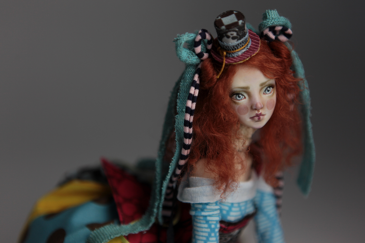 BJD Doll Ball Jointed Victorian Red Skulls 24 15 Victorian Red Skulls Porcelain BJD Doll Sphinx