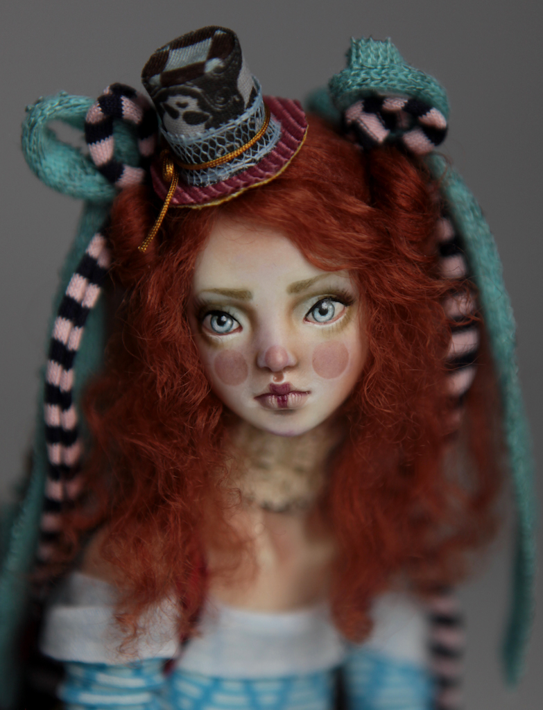 BJD Doll Ball Jointed Victorian Red Skulls 26 15 Victorian Red Skulls Porcelain BJD Doll Sphinx