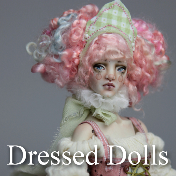 Dressed Dolls Porcelain BJD Dolls | Forgotten Hearts Dolls