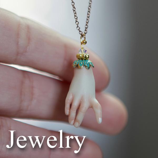 Jewelry Icon Porcelain BJD Dolls | Forgotten Hearts Dolls