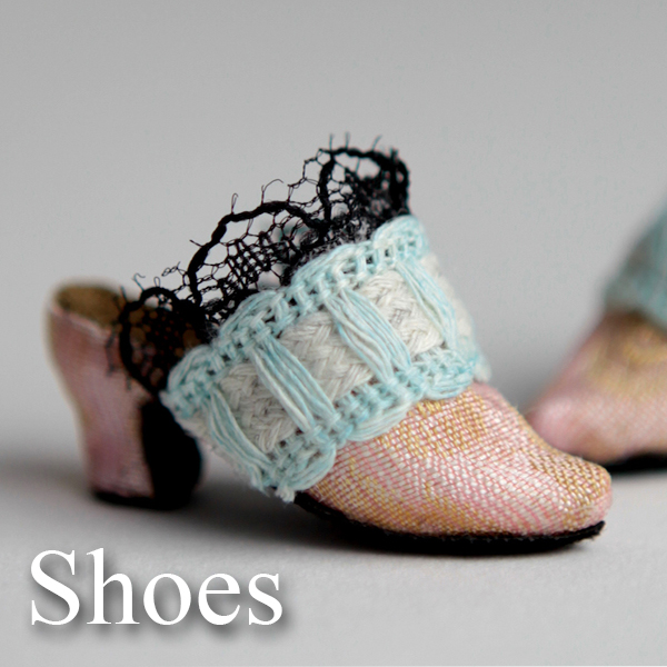 shoes icon Porcelain BJD Dolls | Forgotten Hearts Dolls