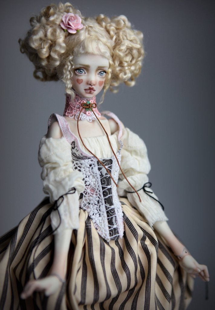 BJD Doll Ball Jointed Kawaii Victorian Cupcakes Dress Outfits107 15 Nude Echo Doll