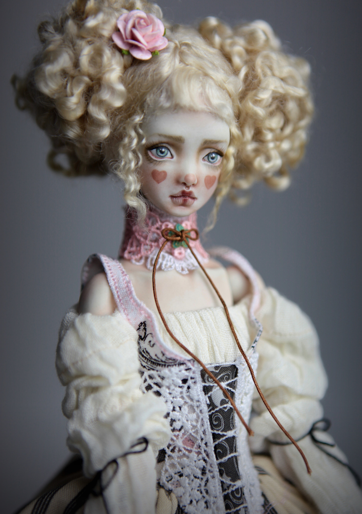 BJD Doll Ball Jointed Kawaii Victorian Cupcakes Dress Outfits108 15 Nude Echo Doll