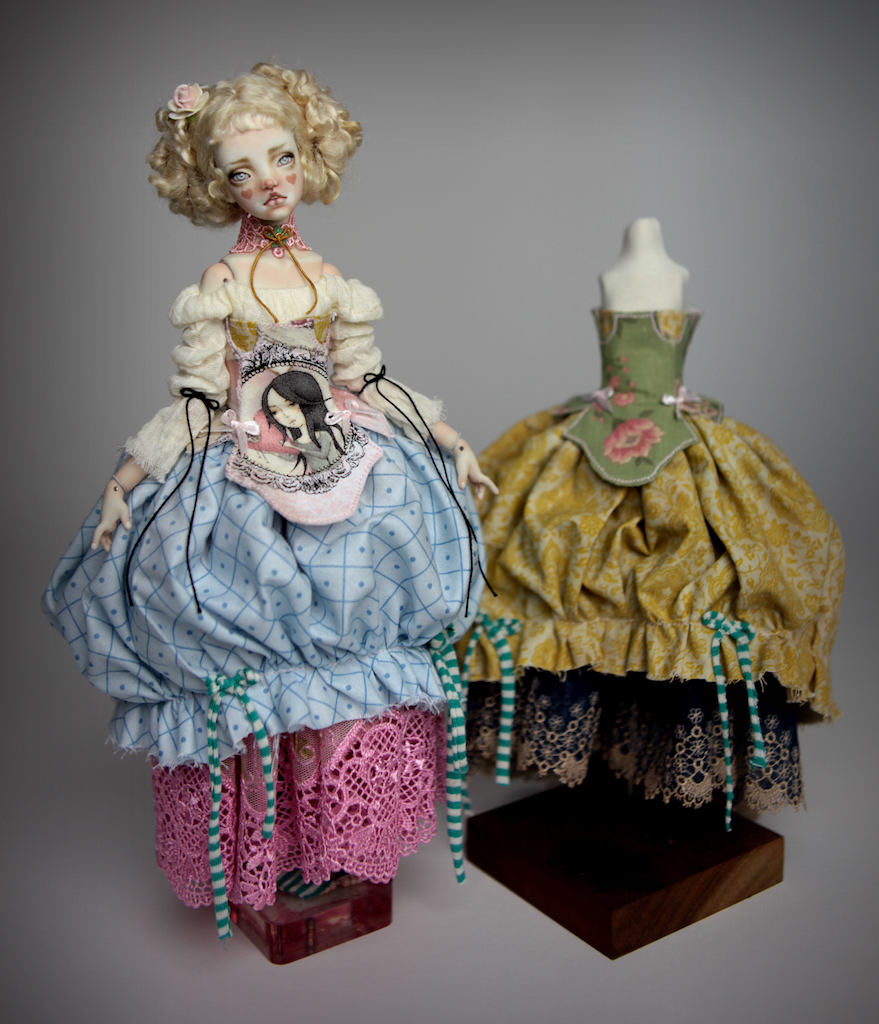 BJD Doll Ball Jointed Kawaii Victorian Cupcakes Dress Outfits36 Victorian Cupcake Outfit #2